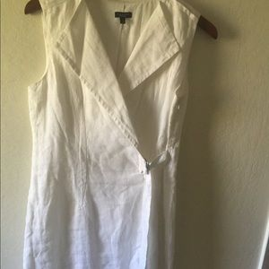 Talbots white dress